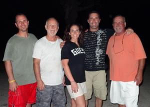 My Brother, My Dad, Me, Brian and his Dad.  Happy Father's Day!
